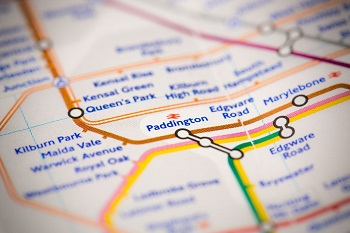 Queen's Park tube map